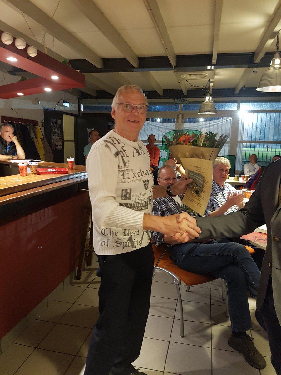 Toon Fitters benoemd tot clubman van het jaar 2018